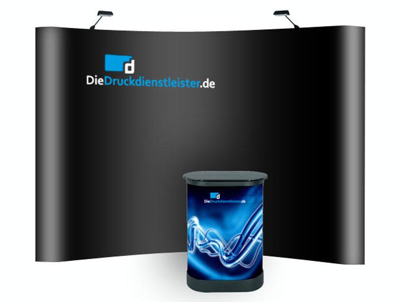 hochwertige messe display systeme theken und w nde drucken. Black Bedroom Furniture Sets. Home Design Ideas
