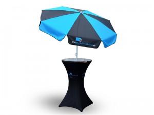 Sonnenschirm-mit-Logo-Druck-und-Stehtisch-Husse-als-Werbestand-online-bestellen
