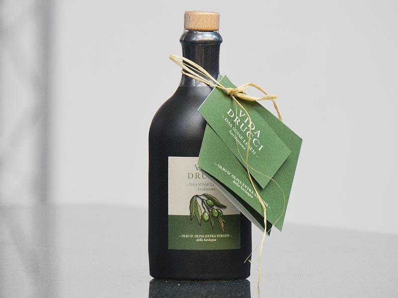 Vida Drucci Olivenöl - hochwertige Drucksachen